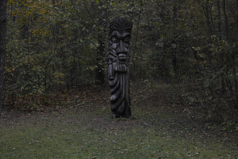 Skulptūra pasakų parke
