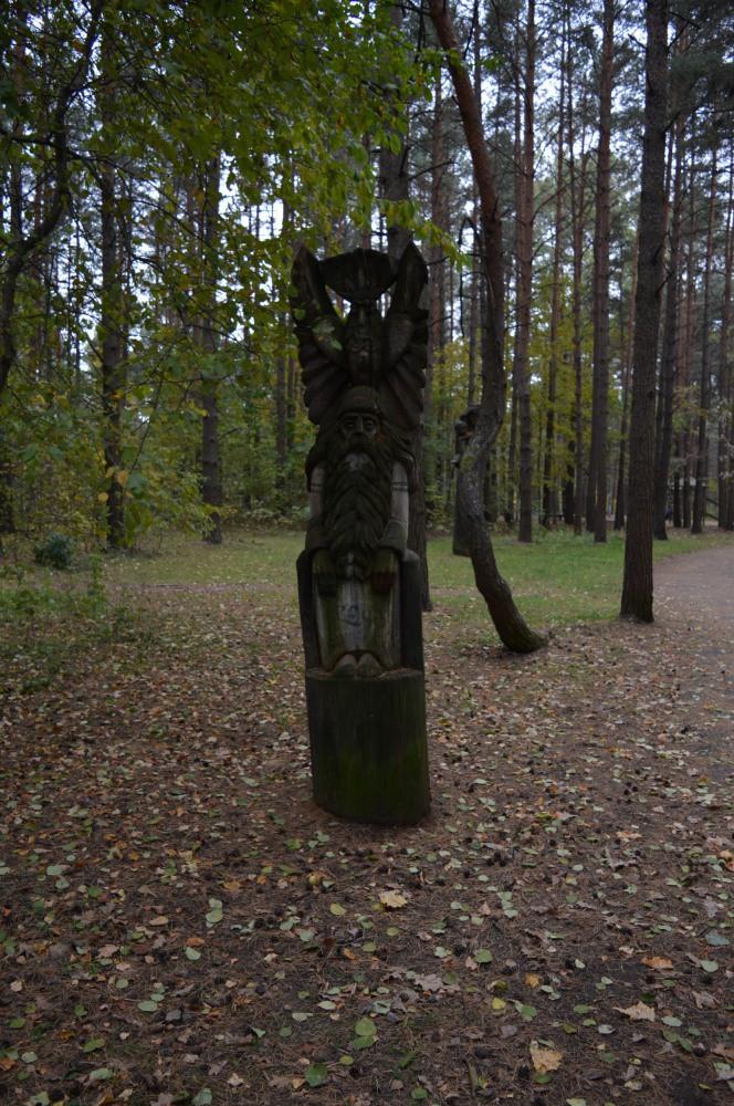 Nykštukas skulptūra
