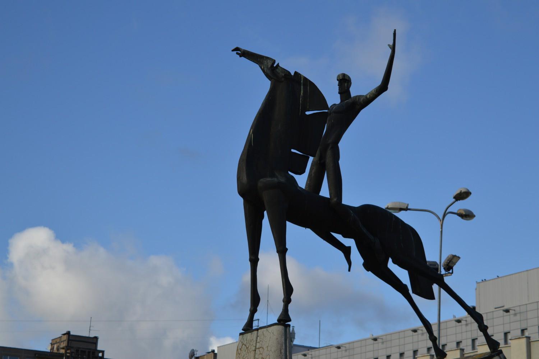 Arklys skulptūra