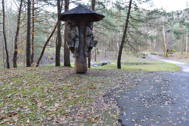 Medinės skulptūros