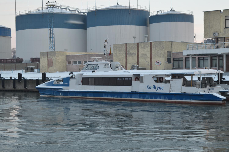 Keleivinis laivas Smiltynė