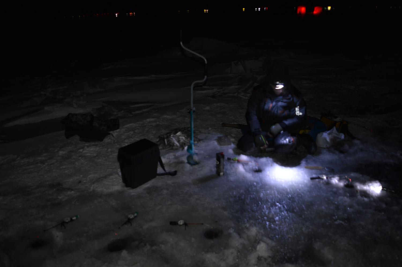 Naktinė stintų žvejyba Nidoje