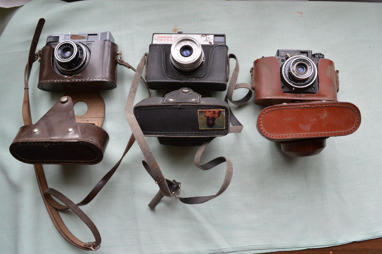 senoviniai fotoaparatai