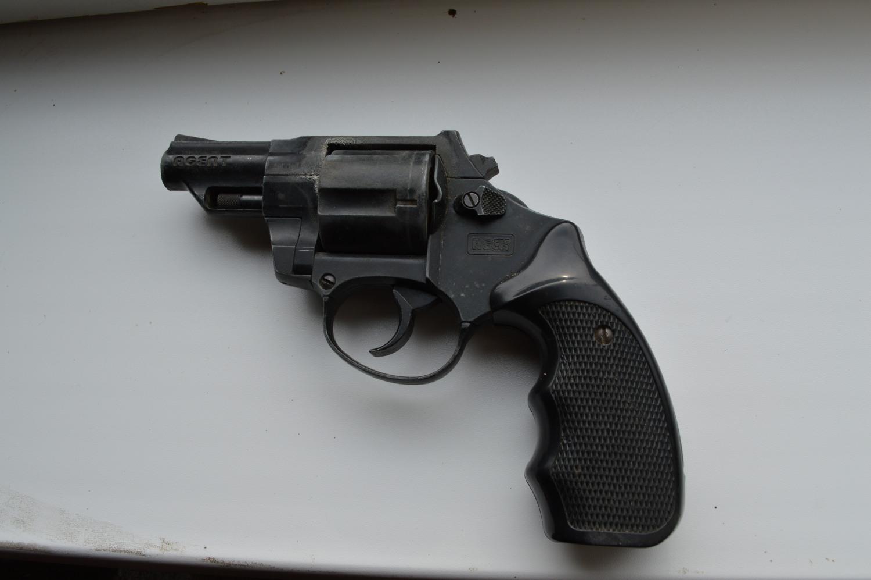 dujinis revolveris