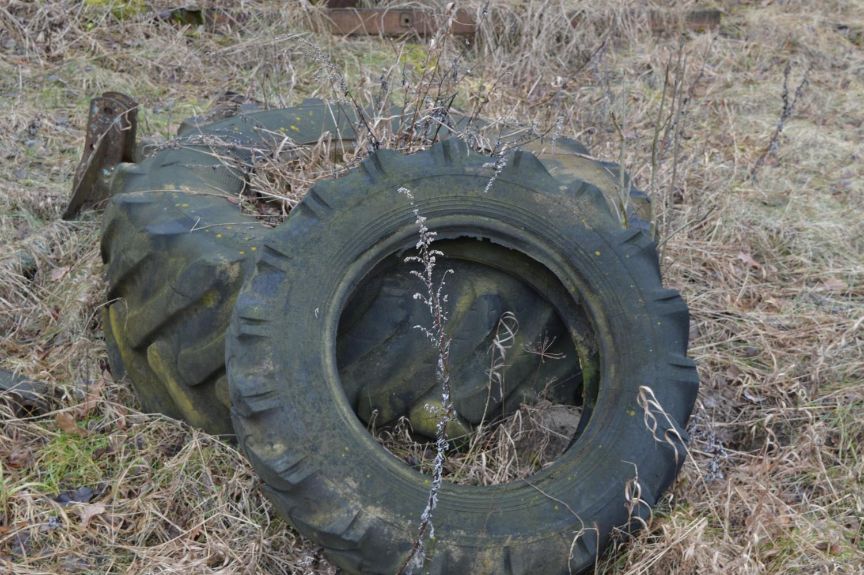 padangos traktoriaus