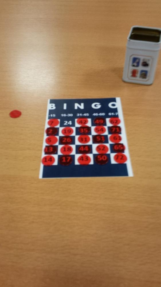 Žaidimas Bingo