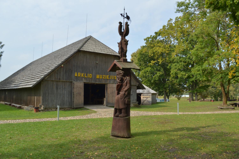 Arklio muziejaus skulptūra