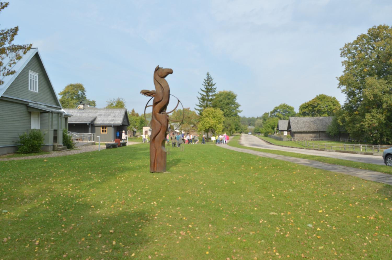 Arklio skulptūra