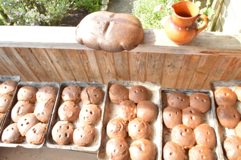 Iškepta vaikų duona