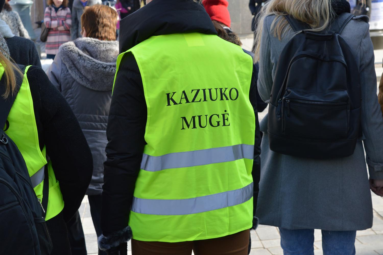 Kaziuko mugės tvarką palaikė savanoriai