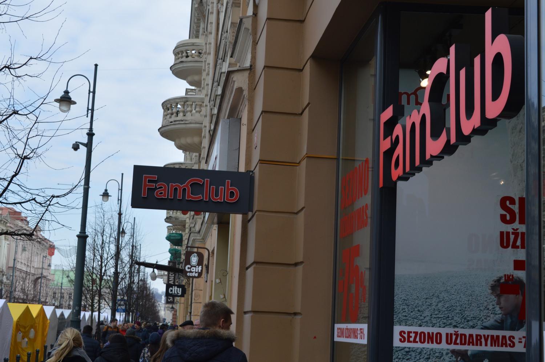Fam Club uždaro žiemos sezoną
