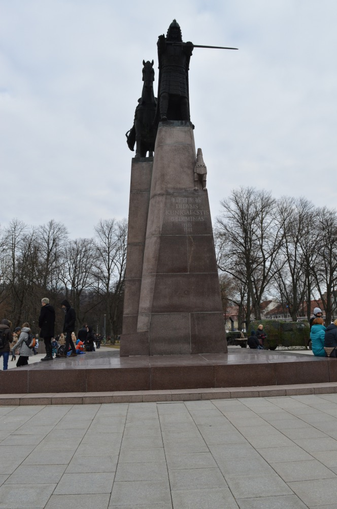 Lietuvos kunigaikščio Gedimino skulptūra