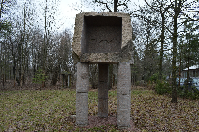 trikojė skulptūra