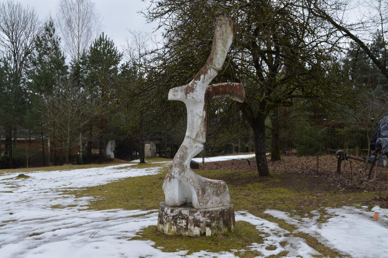 Gipso ir betono skulptūra