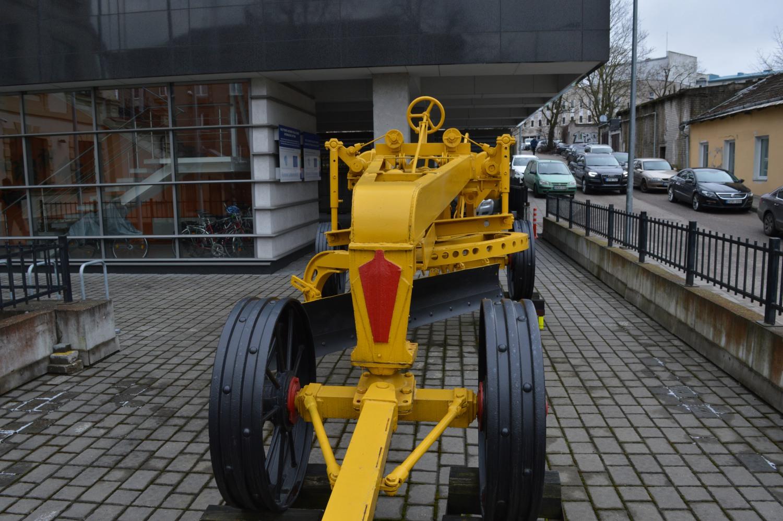Senovinis buldozeris