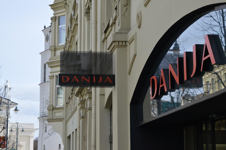 Danija batų parduotuvė