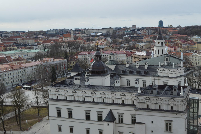 Valdovo rūmų stogas