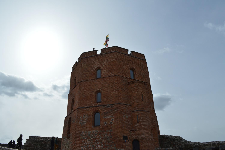 Gedimino pilis nuo kalno