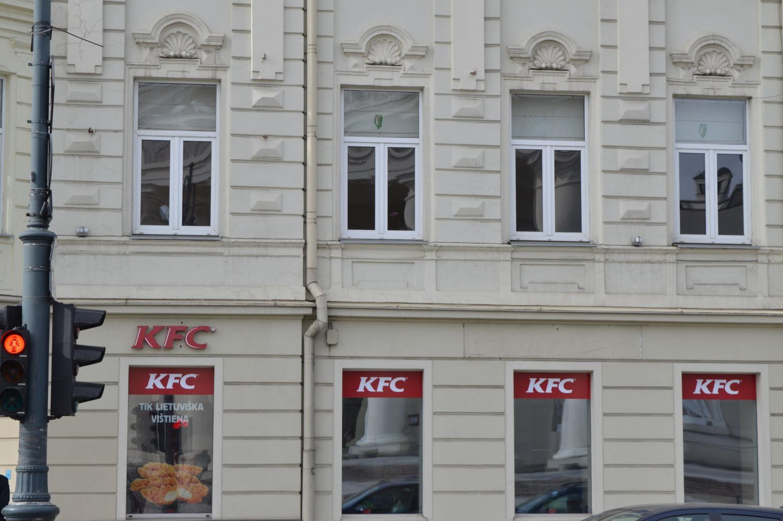 KFC greito maisto restoranas