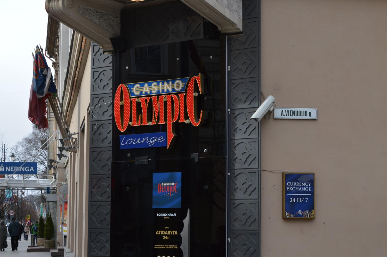 Olympic casino vienuolio g.