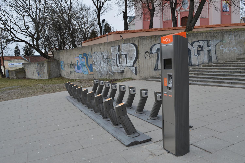 Miesto dviračių stotelė