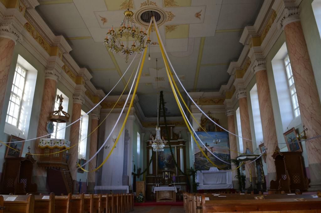 Krosnos šv. bažnyčios altoriai