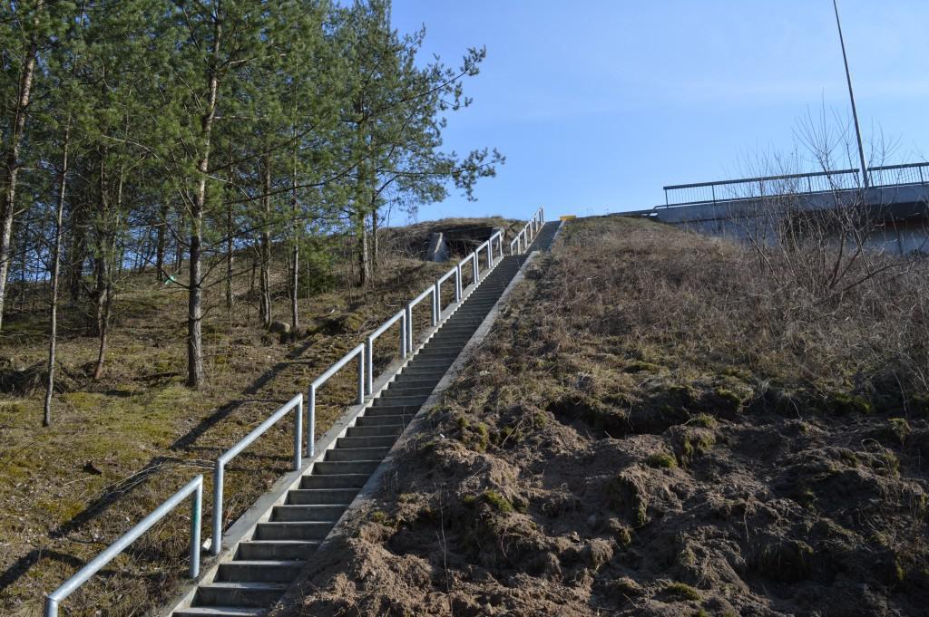 Laiptai ant Lazdynų tilto