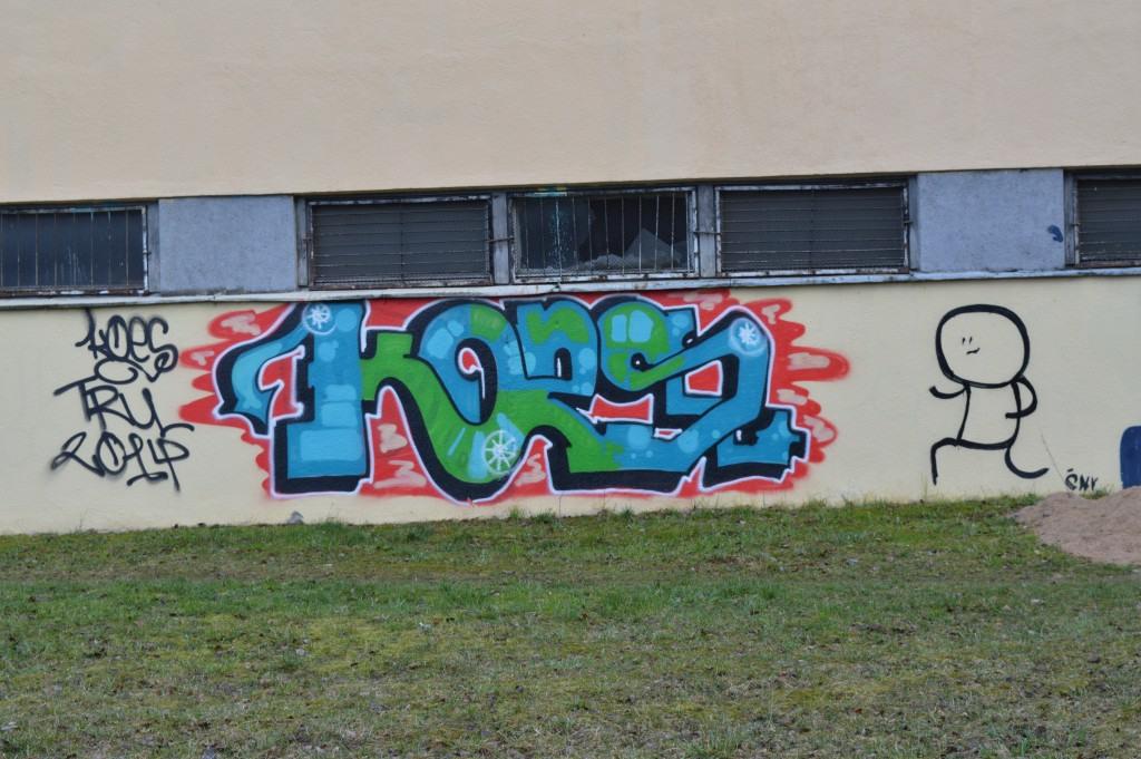 Grafiti KORS