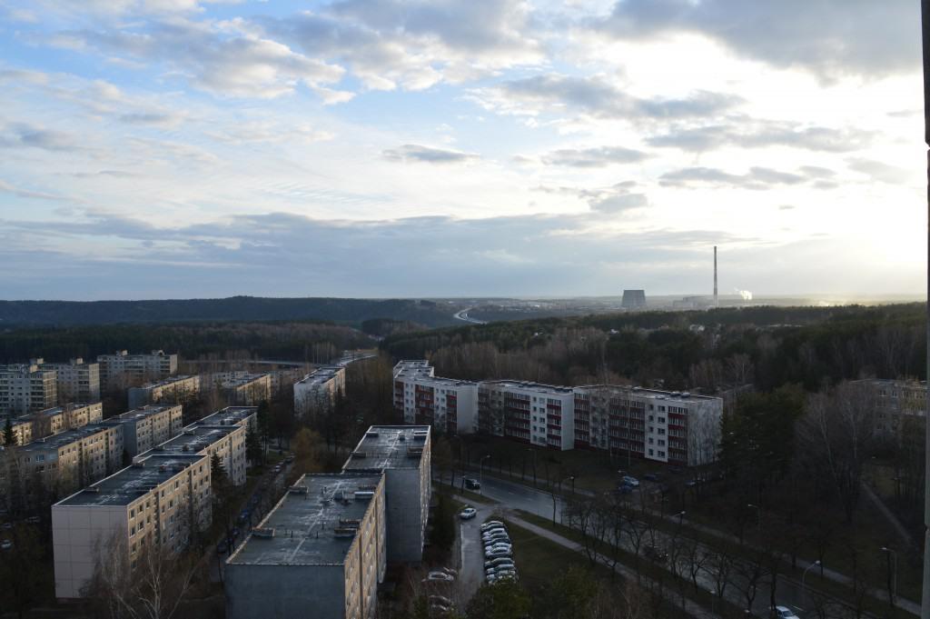 Architektų gatvė iš viršaus