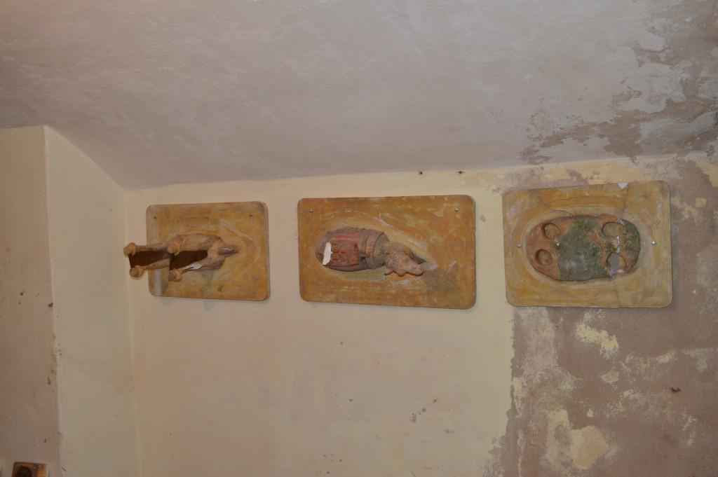 Trakų vokės dvaro autentiški molio dirbiniai