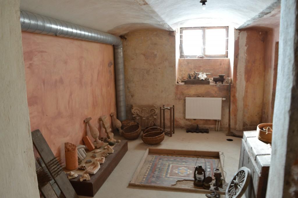 Požeminio rūsio išlikusios ddekoracijos