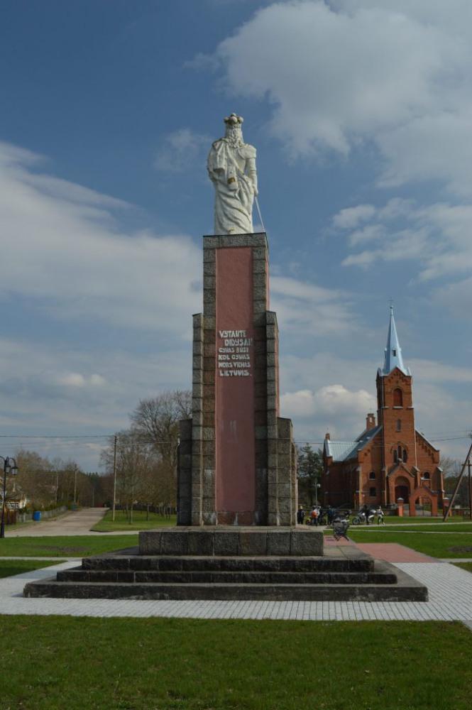 Vytauto didžiojo paminklas Perloja