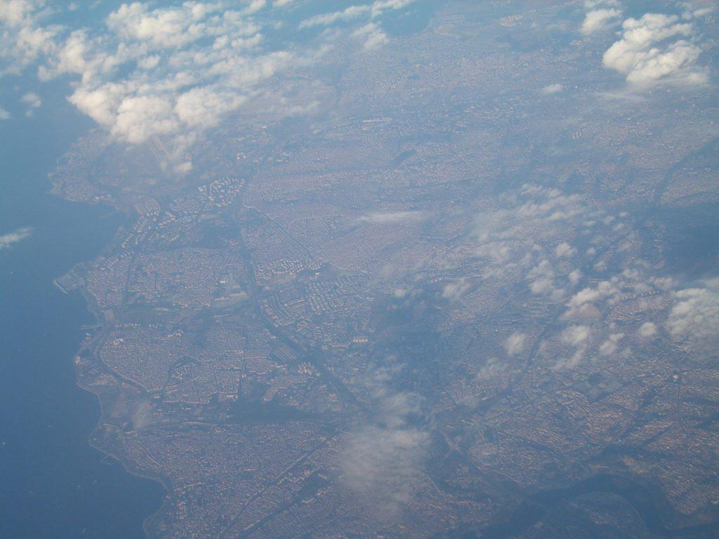 Turkijos miestas iš viršaus