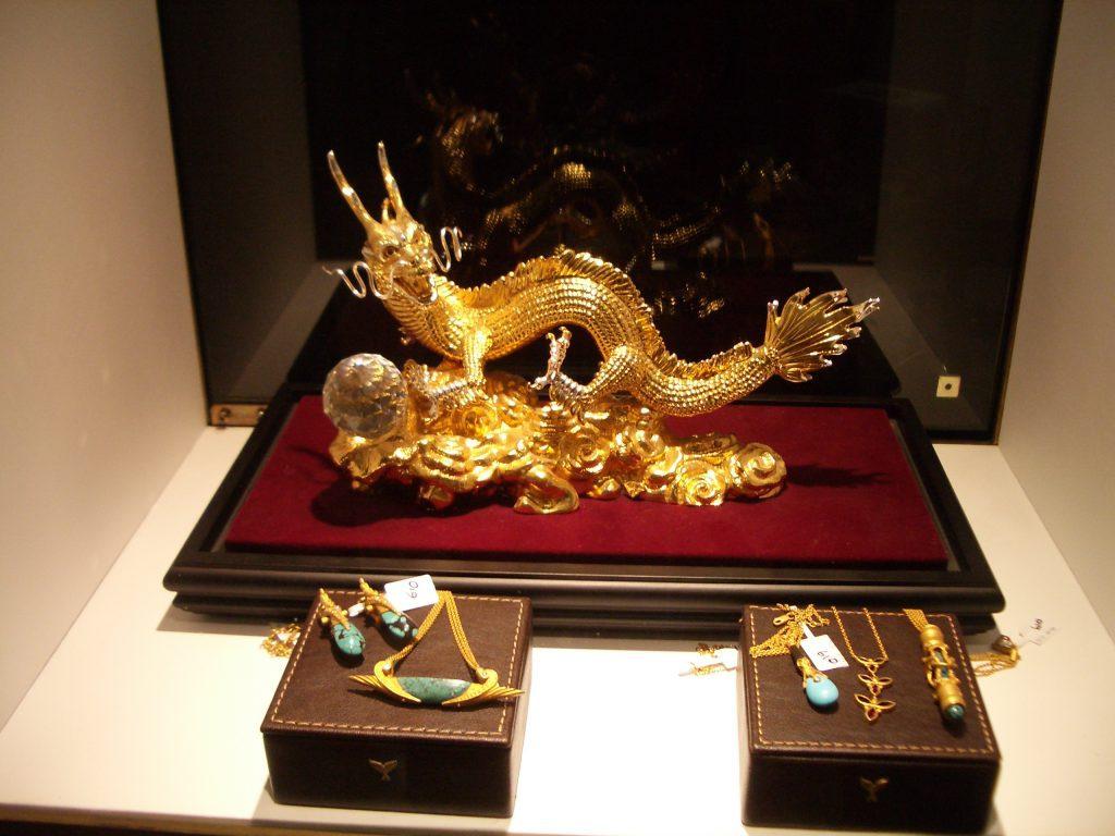 Auksinis drakonas