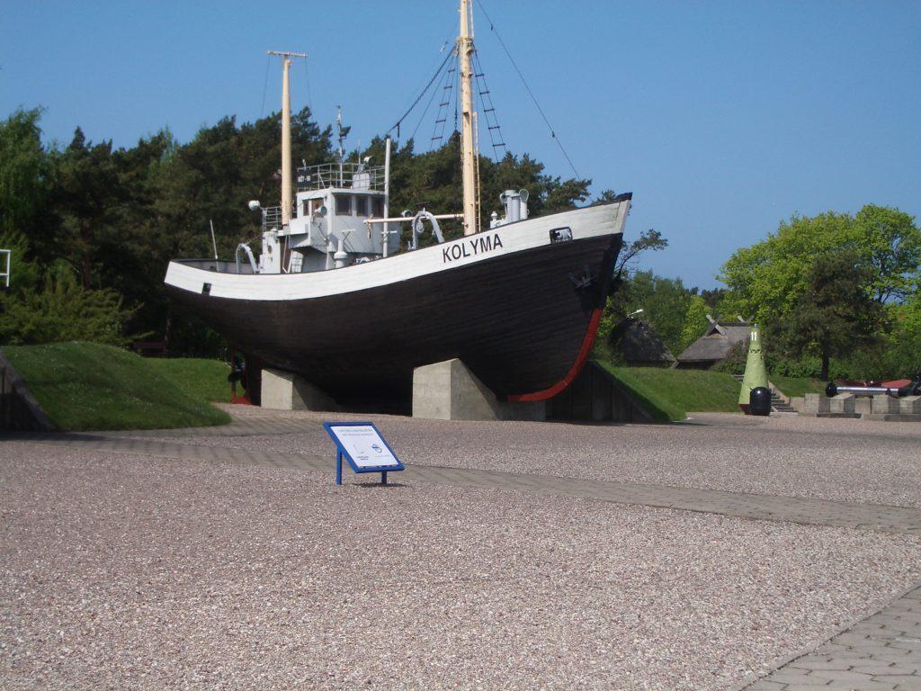 Jūrų muziejaus laivas