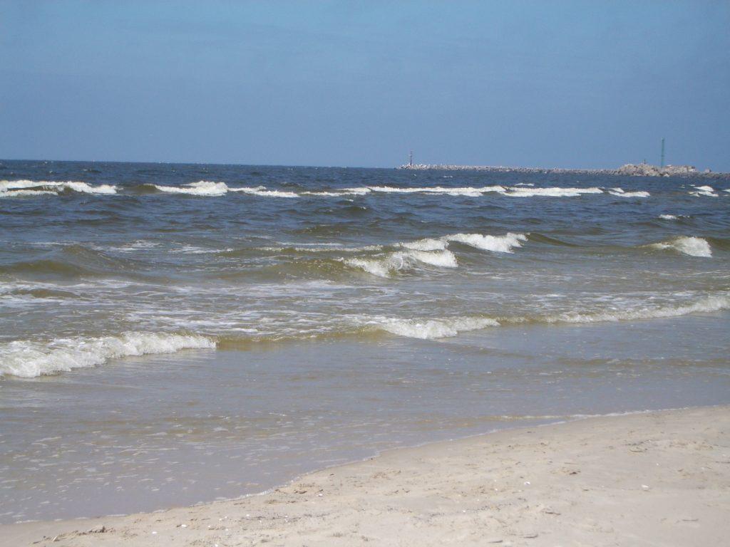 Baltijos jūra Balandį