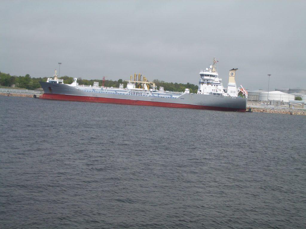 Laivas pilkas Klaipėda