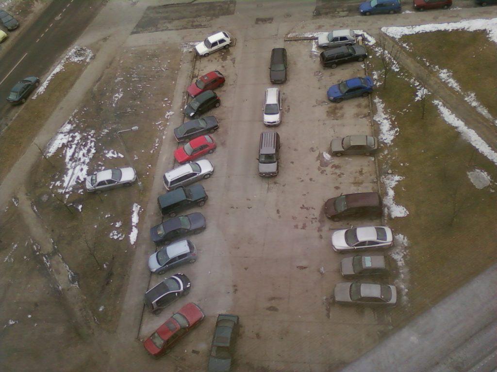 Automobilių kiemas