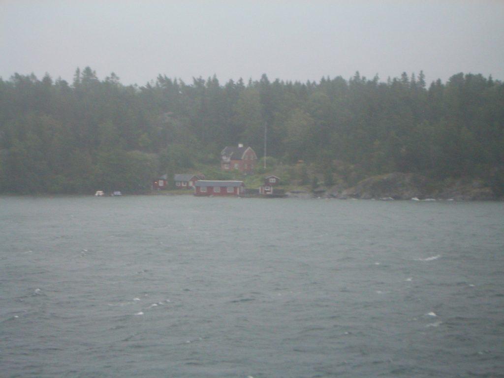 Švedijos uosto krantinė