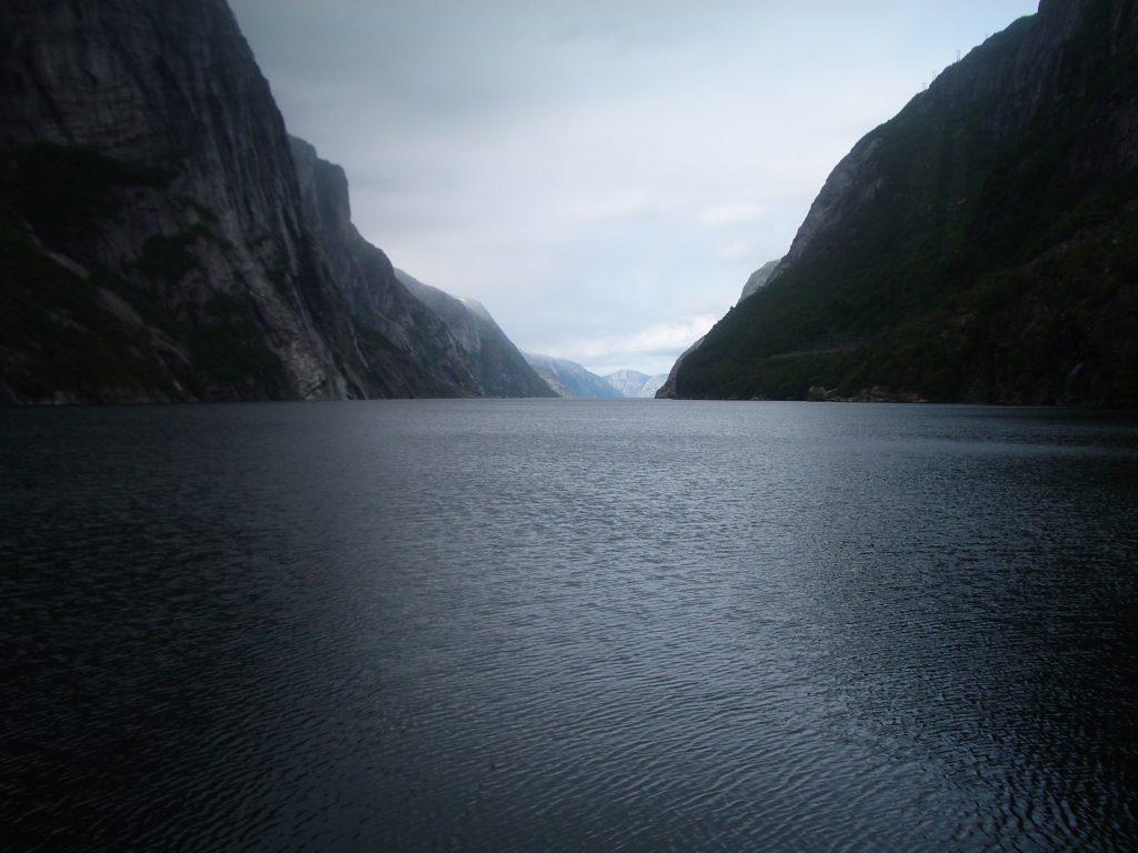 Fiordas Norvegija