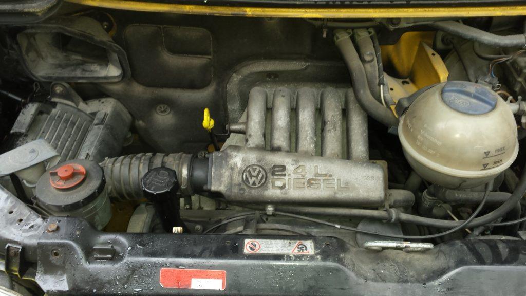 T4 variklis 2,4 dyzelis