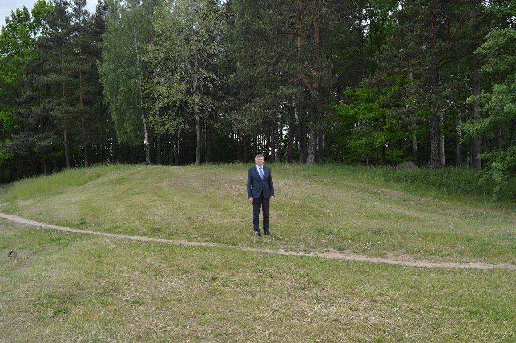 Artūras Paulauskas Pašilaičių parke