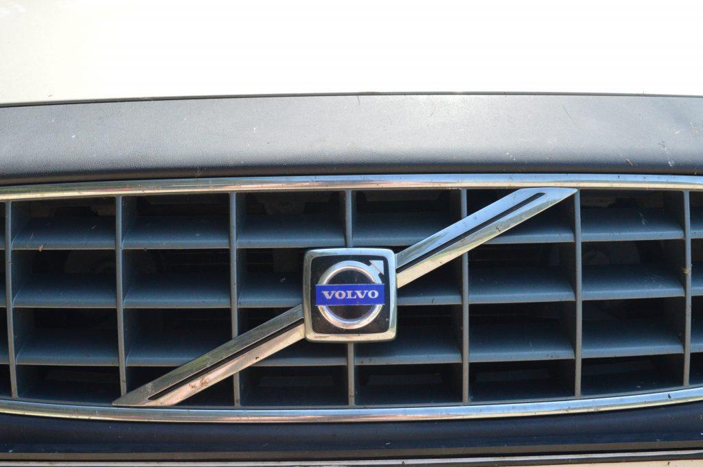 Automobilio Volvo ženklas