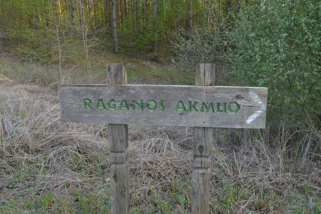 Raganos akmuo Liškiavoje