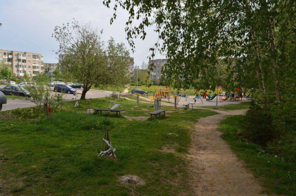 Pašilaičių parko vaikų žaidimo aikštelė