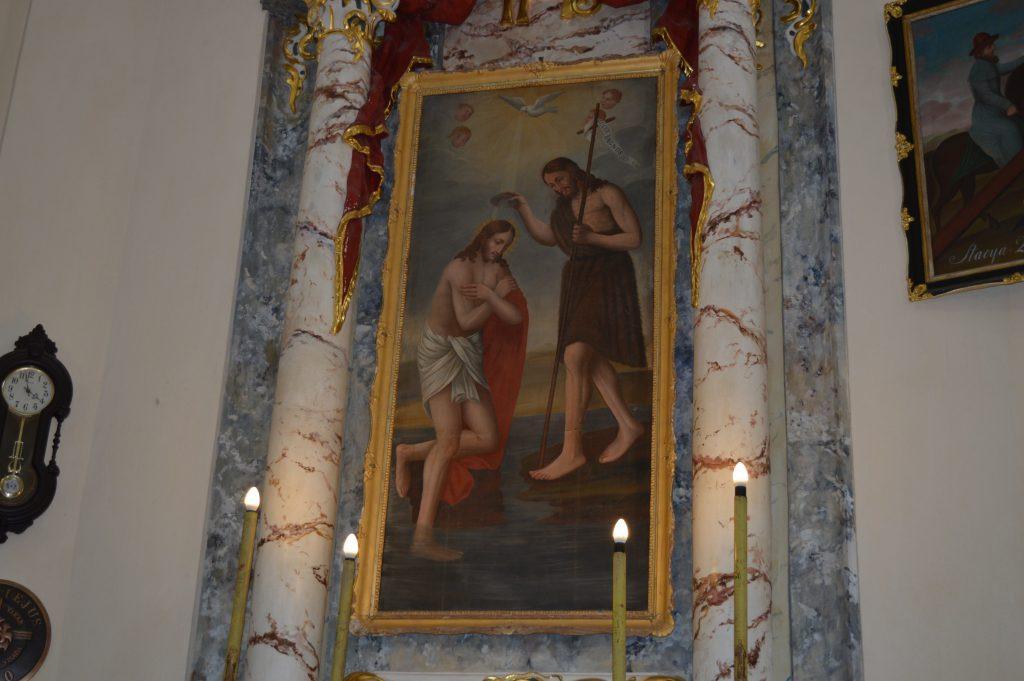 šventas paveikslas simbolizuojantis biblija