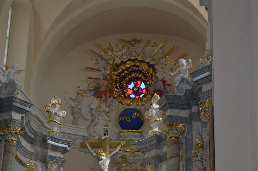bažnyčios šventasis langelis