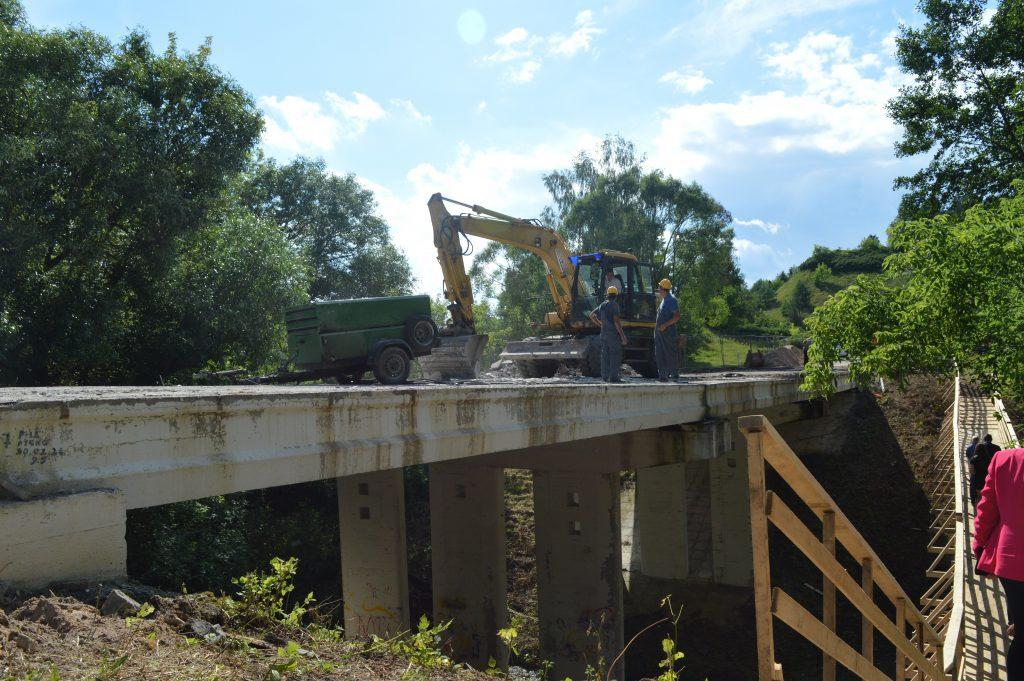 Liškiavos tilto kontrukcija