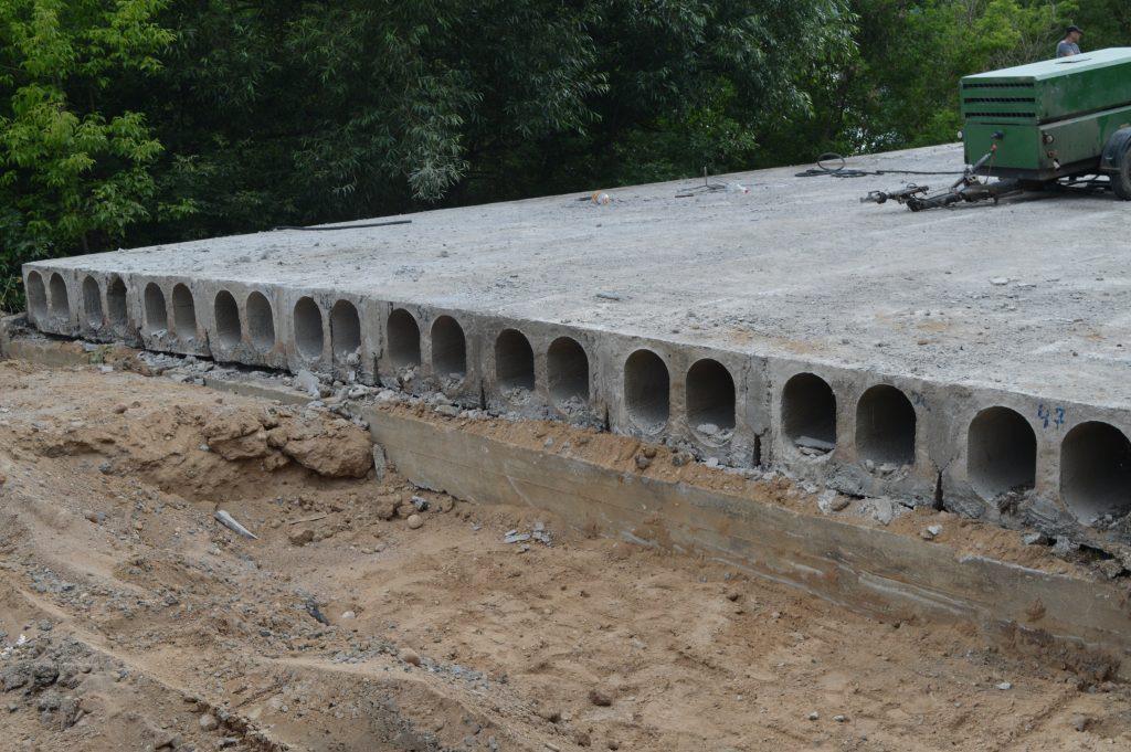 Liškiavos tilto perdangos plokštės