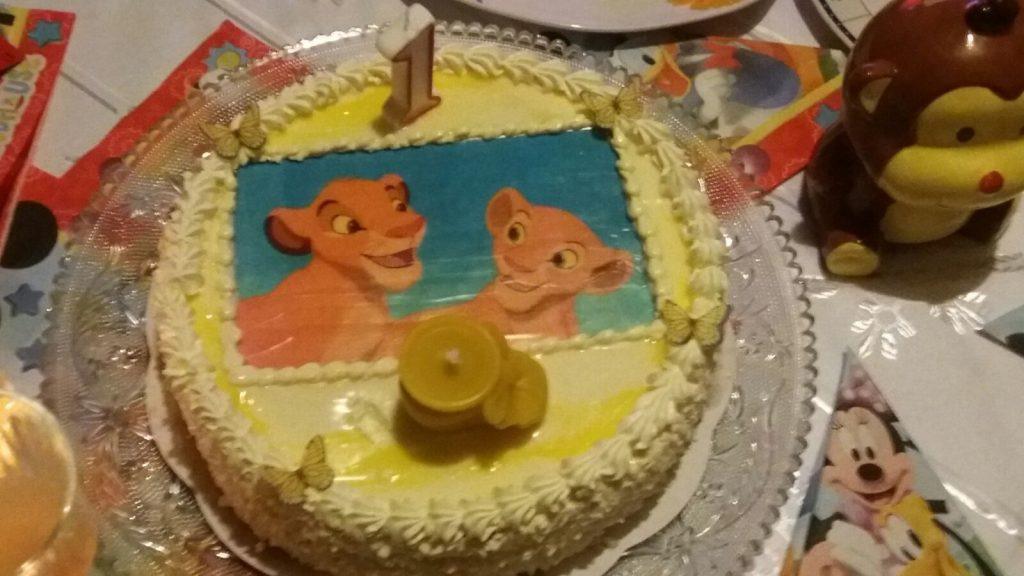 Tortas liūtukas